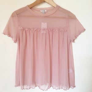 Baby Doll Top in Pink
